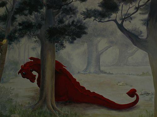 Fantasy Forest: Decor: Dragons