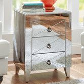 Found it at AllModern - Tory Mirrored Side Table