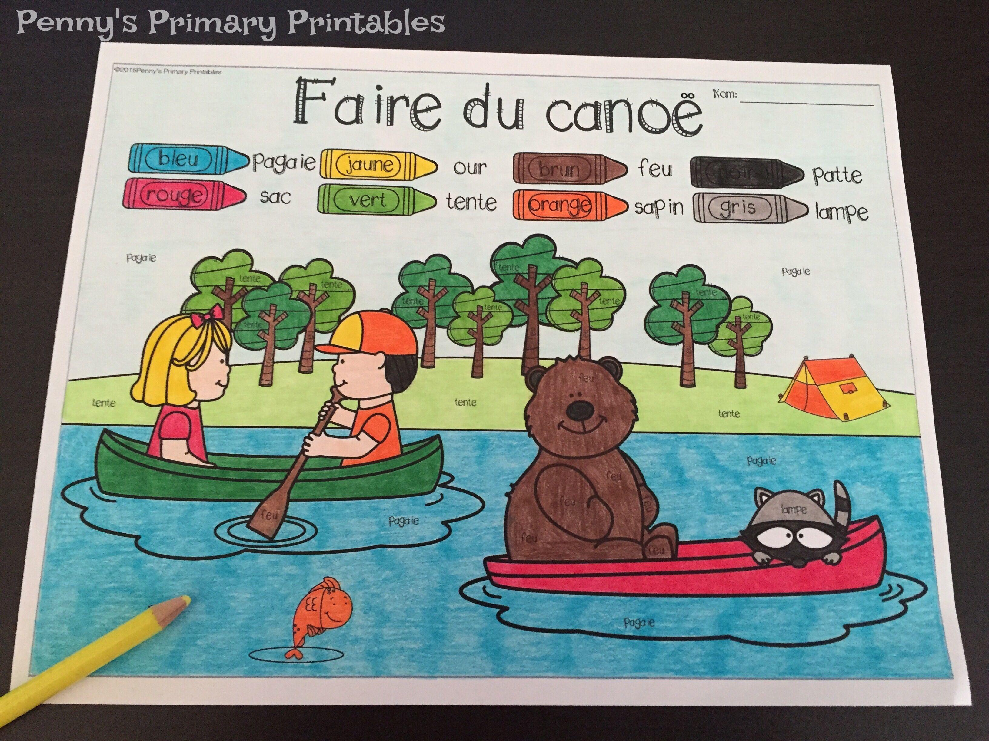 Any French vocabulary regarding camping?