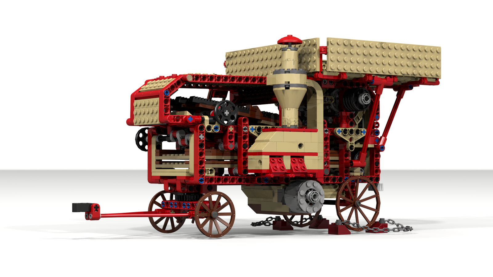 big steam tractor lego lego steam tractor tractors rh pinterest ch