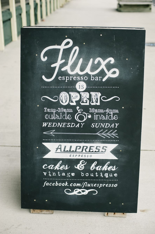 chalk sandwich board design - facebook.com/fluxespresso | Design ...