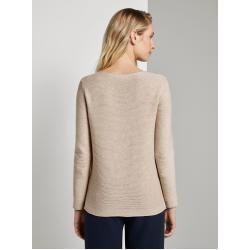 Photo of Tom Tailor women's simple sweatshirt, yellow, plain, size xxl Tom TailorTom Tailor