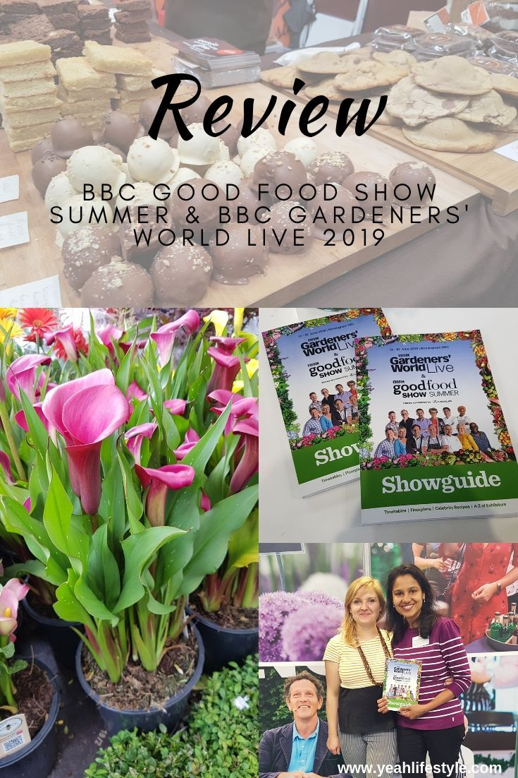 Review BBC Good Food Show Summer & BBC Gardeners' World