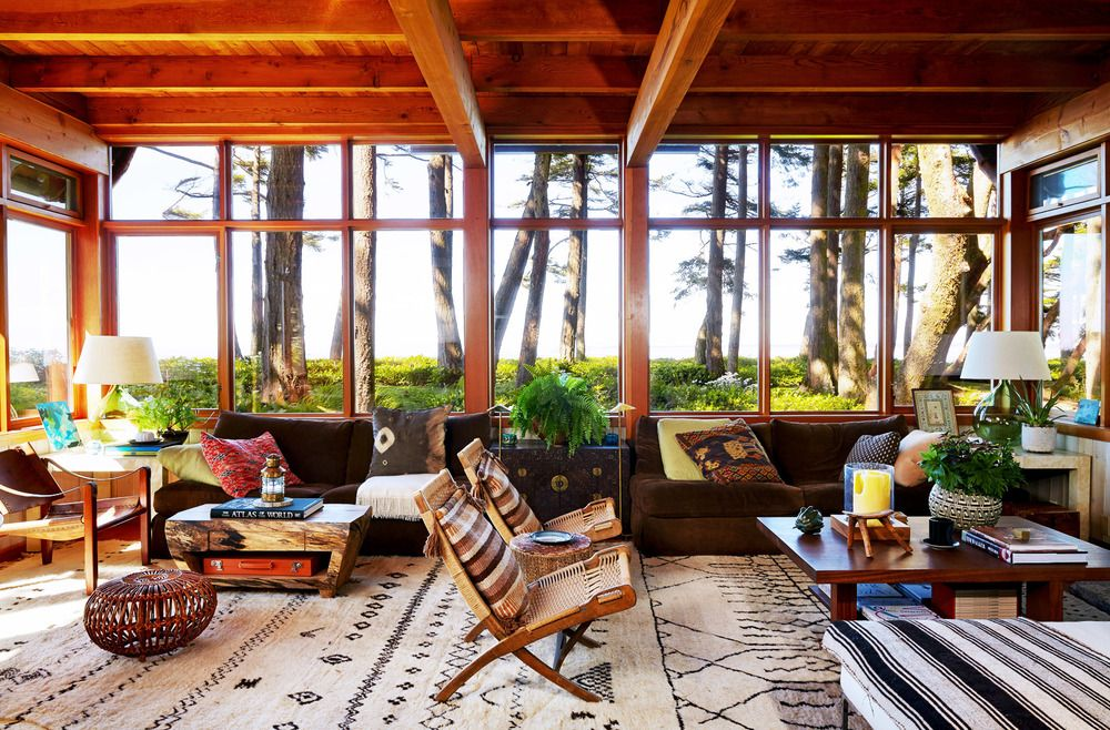 Life goals big windows and a forest