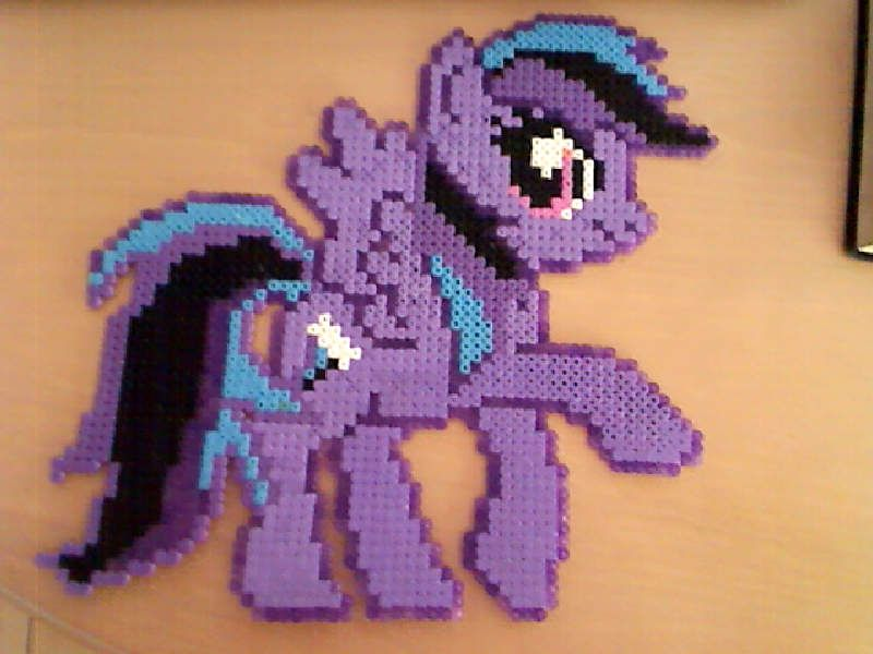 Purple Air Hama Beads by HamaBeadsPonies on deviantart
