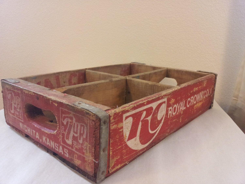 Vintage RC Cola Royal Crown Wooden Crate