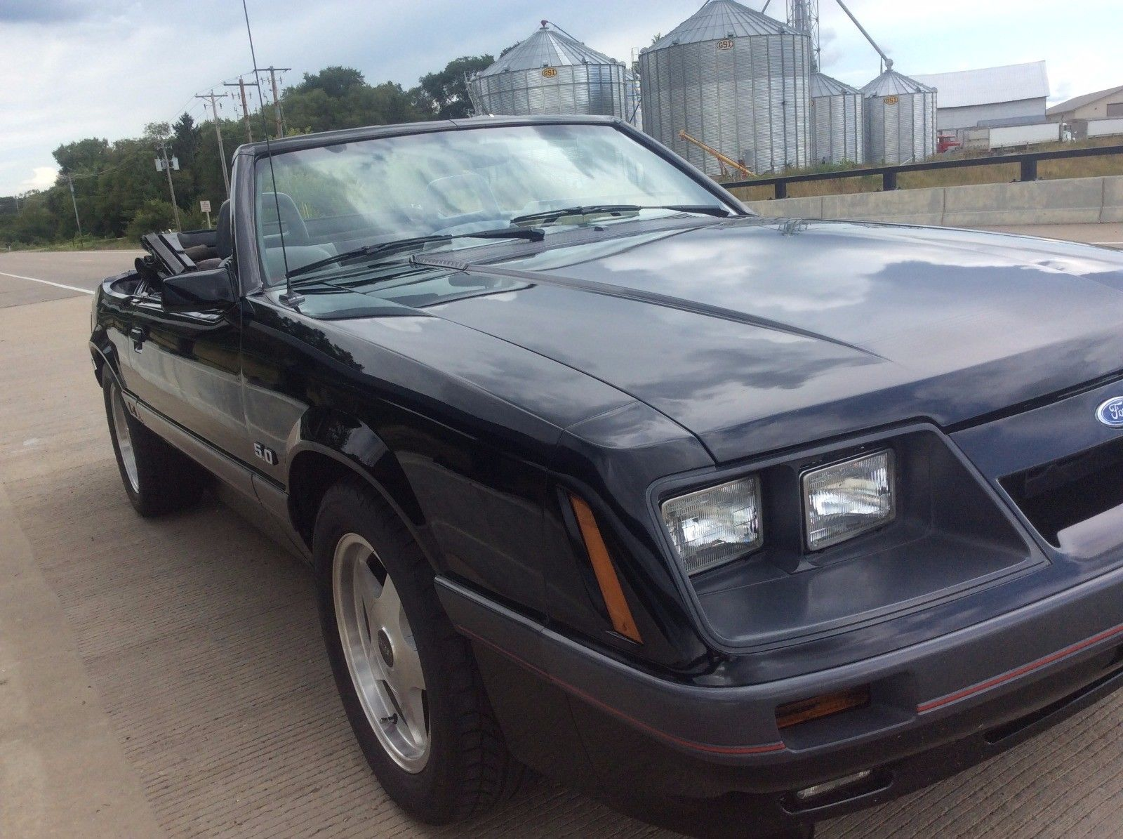 Cool Awesome 1986 Ford Mustang Gt Convertible 2017 2018