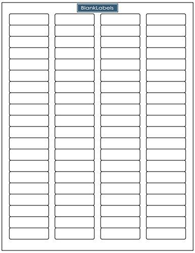 160000 Blank Labels Brand Return Address Labels - 2000 Sheets of - address labels word template