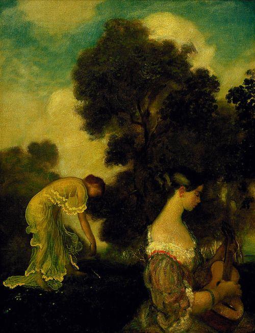 Evensong - Arthur Bowen Davies  (American 1863–1928)