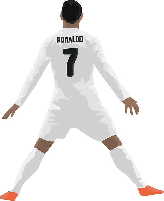 Mini Cristiano Ronaldo Cr7 Vector Logos De Futbol Fondos De