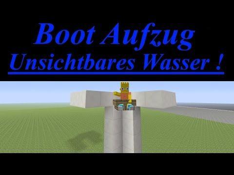 Tutorial Boot Aufzug Ohne Wasser Wand Wallbreach XD New - Minecraft server erstellen ohne portfreigabe