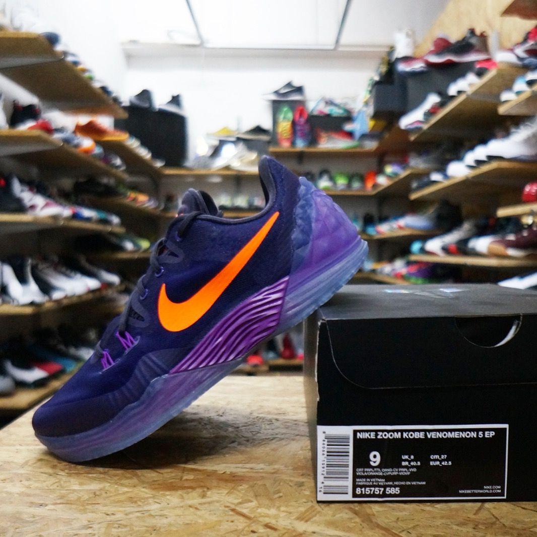 finest selection 91958 858a1 Restock Nike Zoom Kobe Venomenon 5 EP - Court Purple Orange 815757-585  https