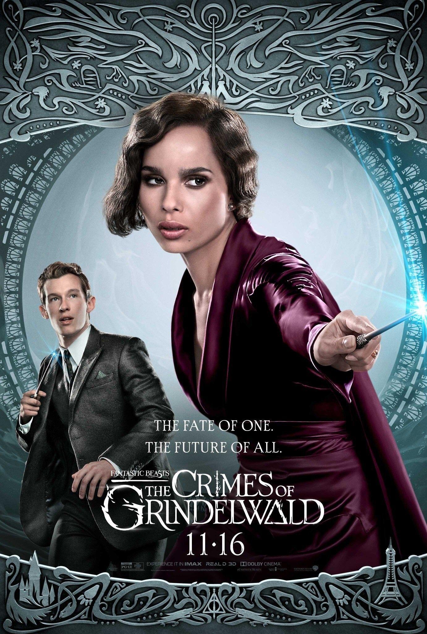Les Crimes De Grindelwald Acteurs : crimes, grindelwald, acteurs, Thésée, Animaux, Fantastiques:, Crimes, Grindelwald, Kravitz, Fantastiques,, Fantastiques