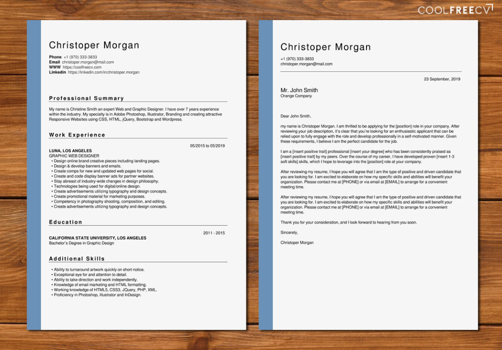 25 Creative Cv Templates That Will Make You Stand Out Pixel77 Job Resume Examples Resume Template Job Resume Format