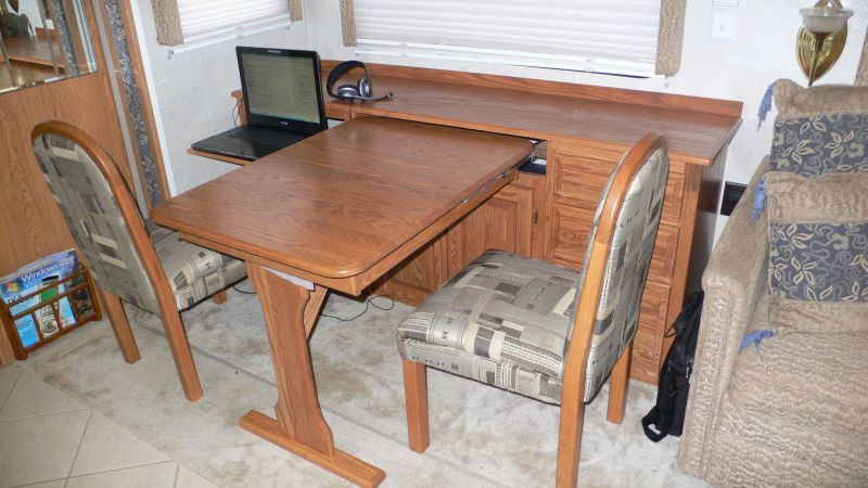 Rv Open Roads Forum Replacing 'booth' Dining Area With Table Mesmerizing Dining Room Table Leaf Replacement Decorating Design