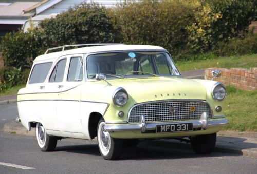 Ford Consul Mk2 Estate Readi Bay Net Classic Cars Vintage British Sports Cars Classic Cars