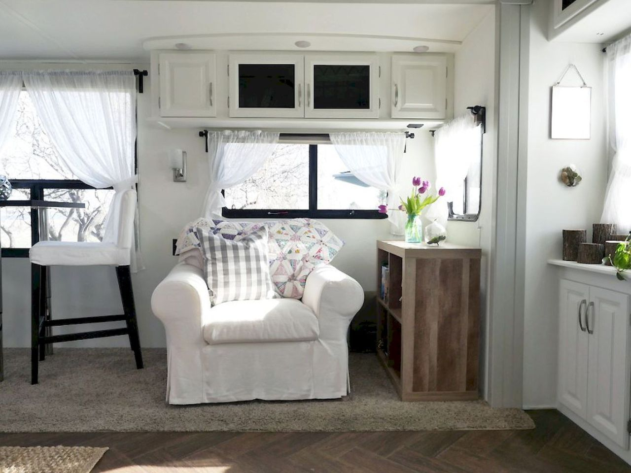 90 modern rv remodel travel trailers ideas 56 with