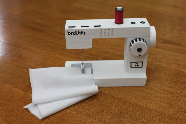 MADE Pieces For Reese 40 Doll Wooden Sewing Machine Dolls Simple 18 Doll Sewing Machine