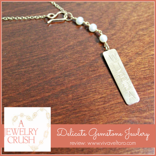 73ca2e871401 Delicate Gemstone Jewelry from A Jewelry Crush! WIN a custom