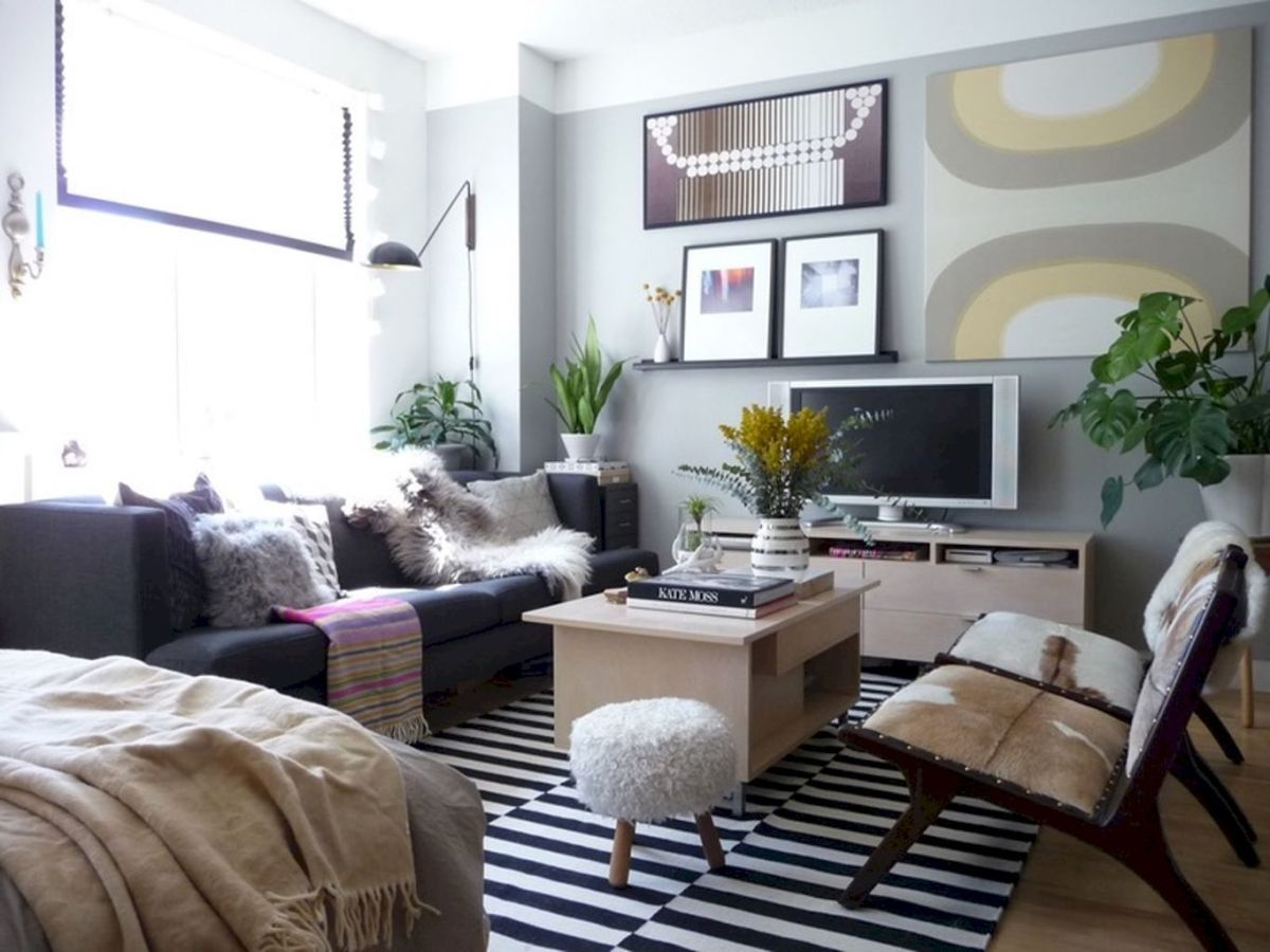 small apartment studio decorating ideas on a budget 25 in 2019 rh pinterest com