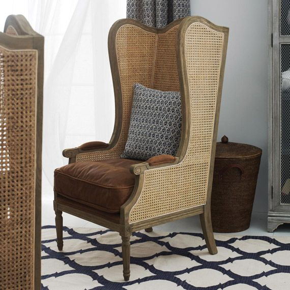Deauville High Back Wing Armchair Winged Armchair Armchair Chair