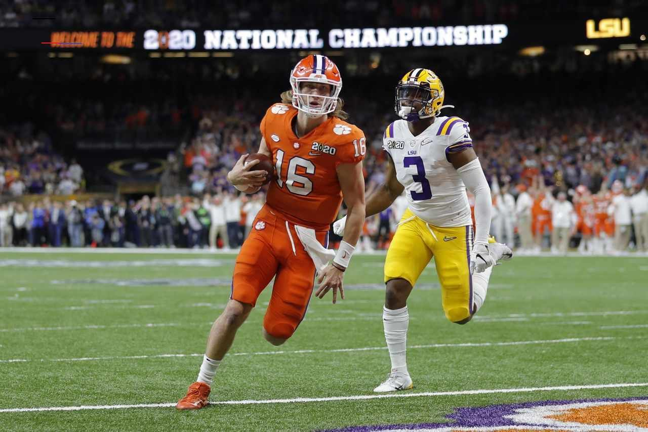 trevorlawrence in 2020 National football league