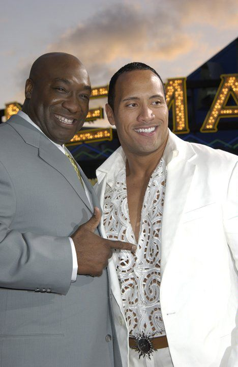 Michael Clarke Duncan Dwayne Johnson They Are My Favorite Actors In Hollywood The Rock Dwayne Johnson Dwayne Johnson Dwayne The Rock