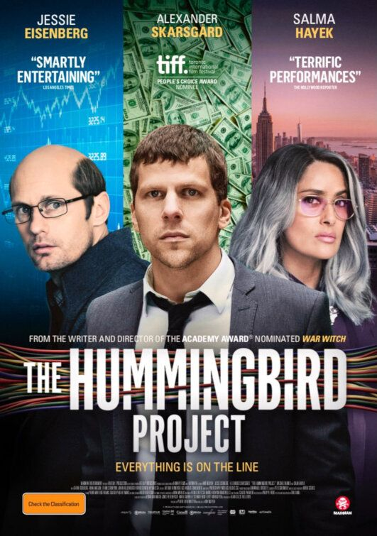 The Hummingbird Project Movie Poster 4 Of 4 Imp Awards