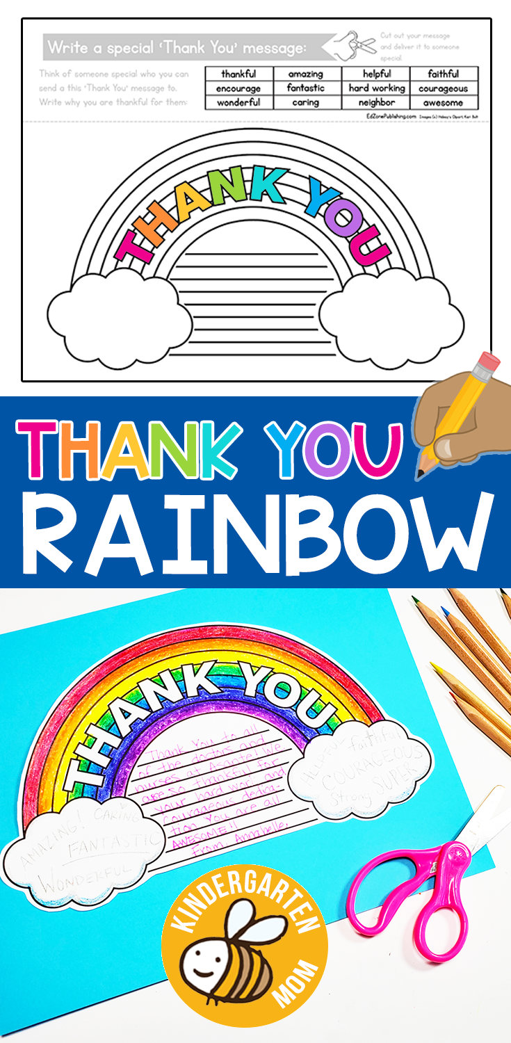 Thank You Rainbow Writing Prompt Free Kindergarten Writing Prompts For Kids Studen Kindergarten Writing Writing Prompts For Kids Kindergarten Writing Prompts [ 1500 x 735 Pixel ]