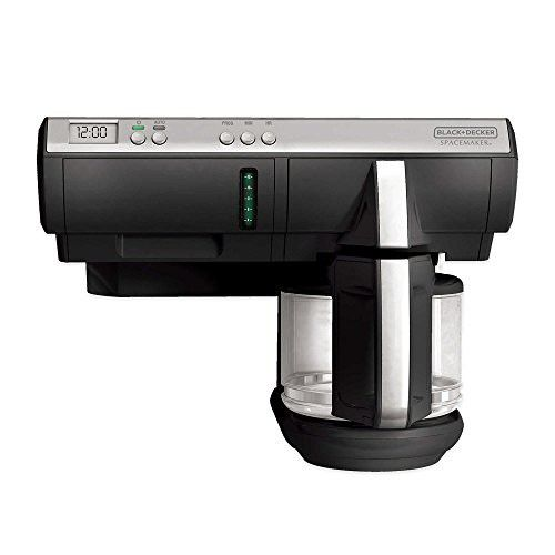 Black Decker 8 Cup Emaker Thermal Coffeemaker With Nonstick Carafe Plate