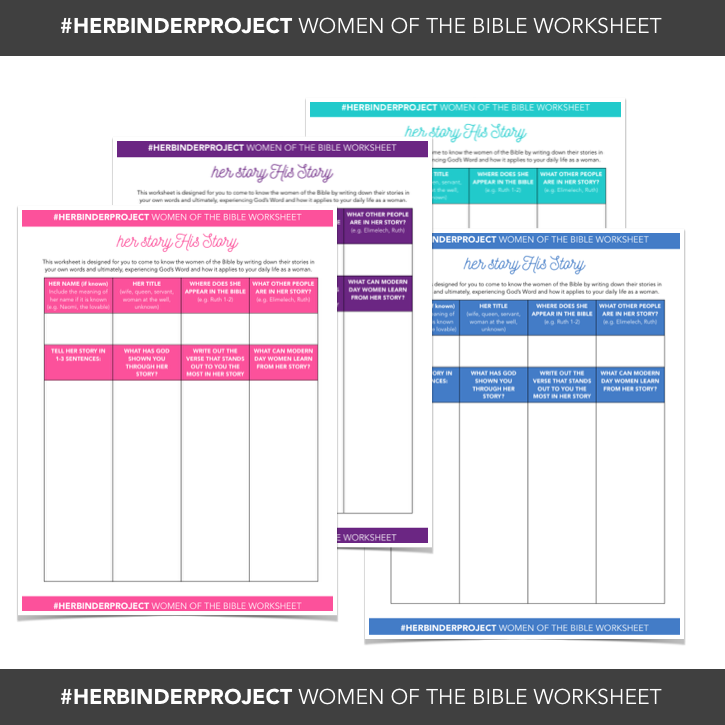 Free Printable worksheet for studying women in the bible great – Free Bible Worksheets