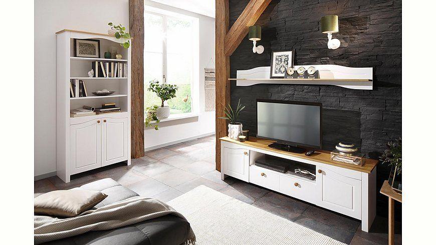 Home affaire Wandregal »Rialto«, mit dekrativen Fräsungen, Breite - wohnzimmer italienisches design