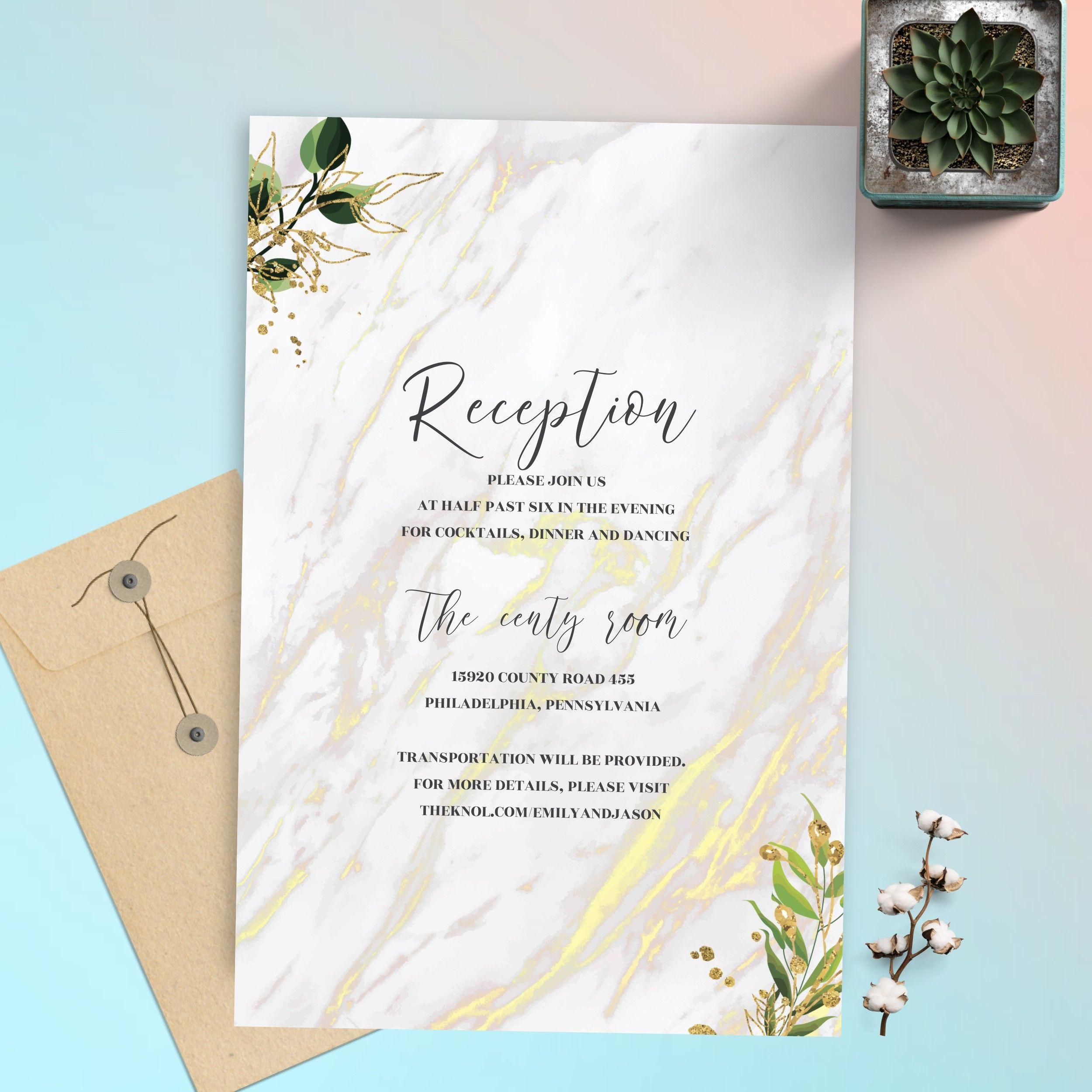 simple but elegant invitations wedding