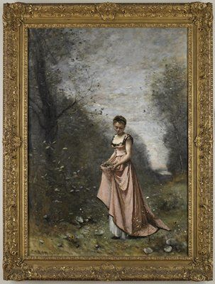 Springtime of Life, 1871. Jean-Baptiste-Camille Corot. This painting once hung in the art gallery of James J. Hill.  Collection of the Minneapolis Institute of Art