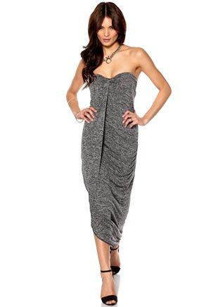 Make Way Emese Dress Grey Melange