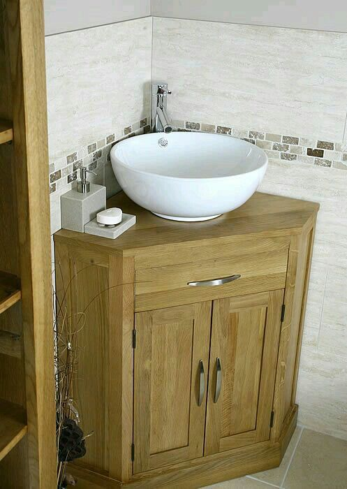 corner bathroom sink pure home corner bathroom vanity corner rh pinterest com