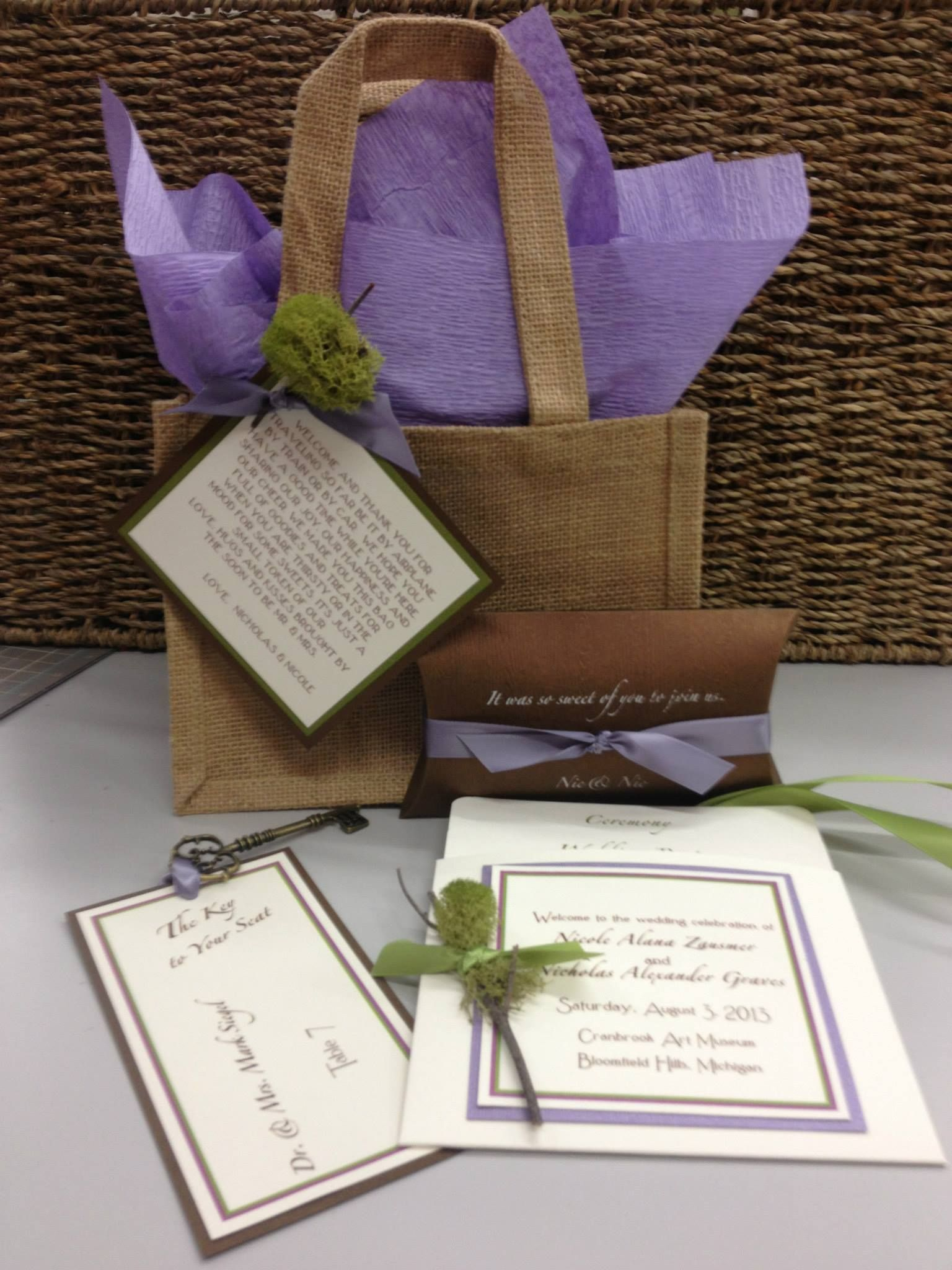 invitation wedding wording gifts%0A Hotel Guest Bags  hotel bag tags  wedding out of town guests  hotel bags