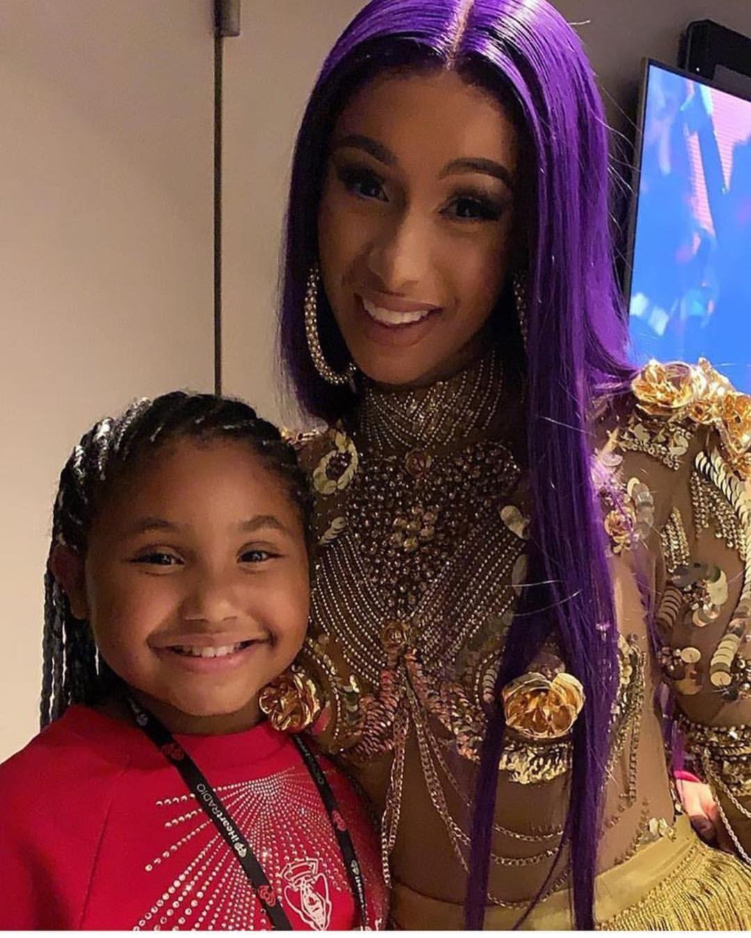 Cardi B And Christina Milan Daughter Cardib Cardib