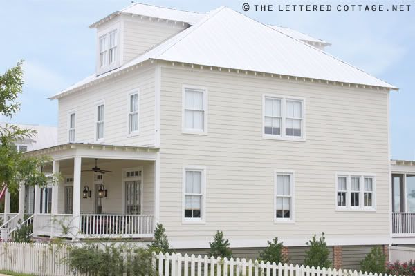 The Paint Colors Are Benjamin Moore Historical Colors: Carrington Beige On  The Siding, Nantucket Grey On The Doors And Linen White On The Trim. Part 54