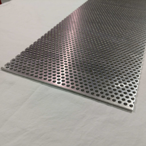 Aluminum Perforated Sheet 1 8 Thick 1 4 Hole 3 8 Stagger Various Sizes Perforated Metal Perforated Metal Sheet