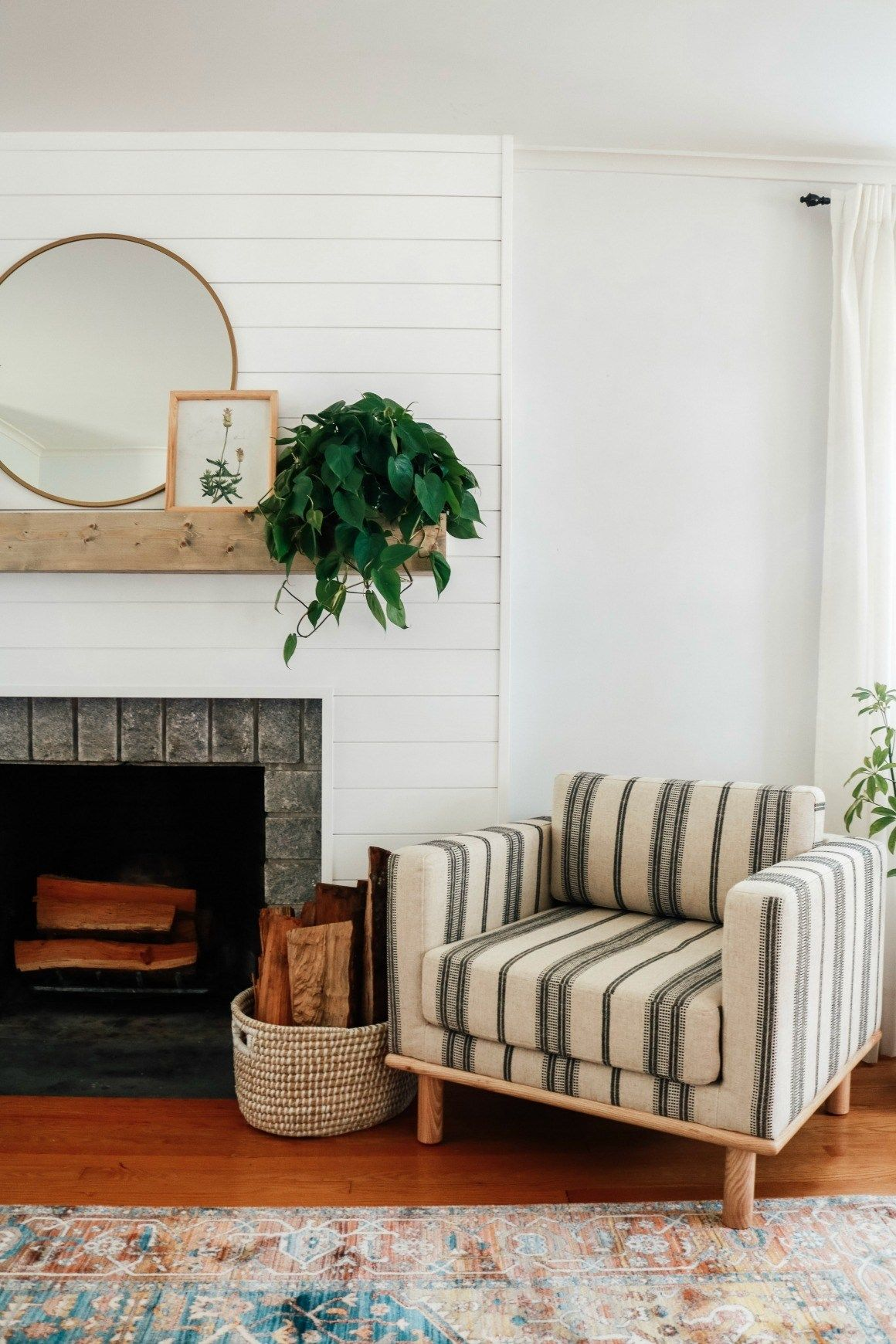 Living Room Affordable Cozy Makeover | Small space living ...