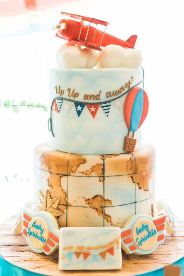 A Travel Themed Baby Shower for Matty