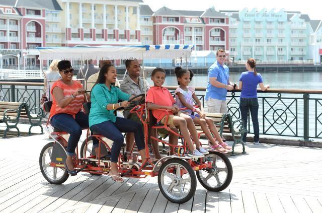 Image result for disney world Boardwalk bikes