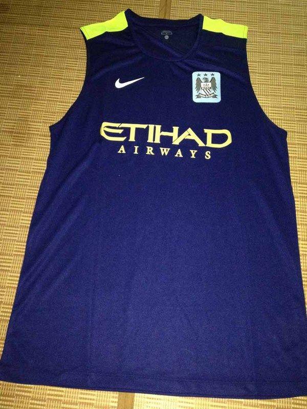 camiseta de entrenamiento manchester city