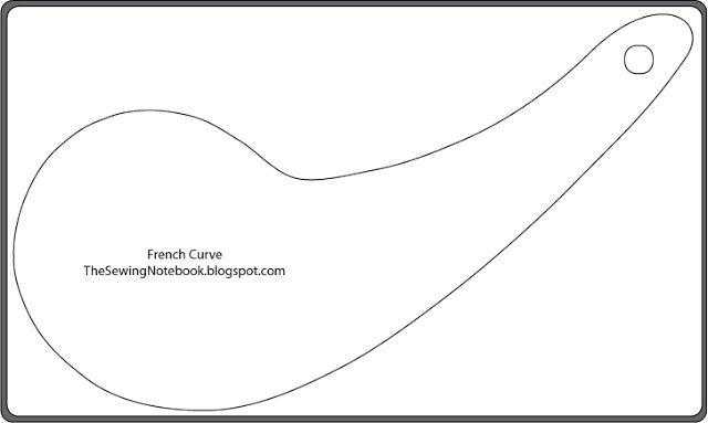 Invaluable image inside printable french curve