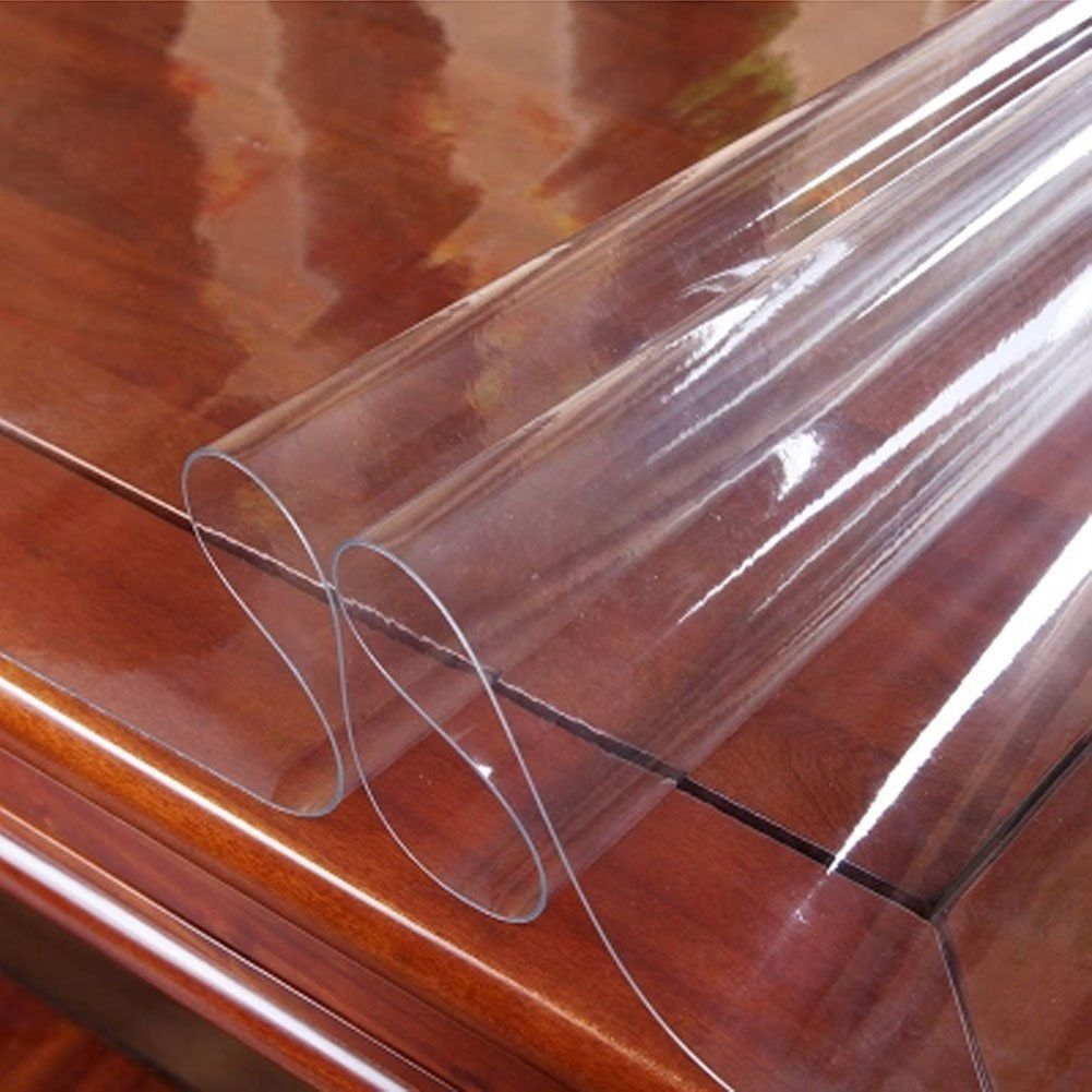 Image Of Good Dining Table Protector Plastic Table Covers