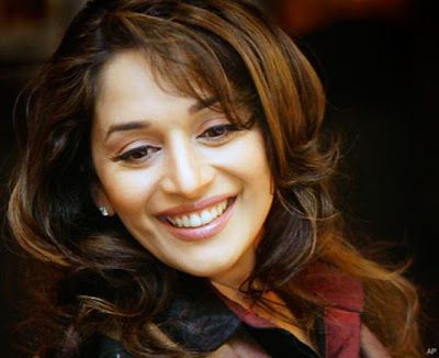 Celebrity Lines Madhuri Dixit Actress Hairstyles Beauty