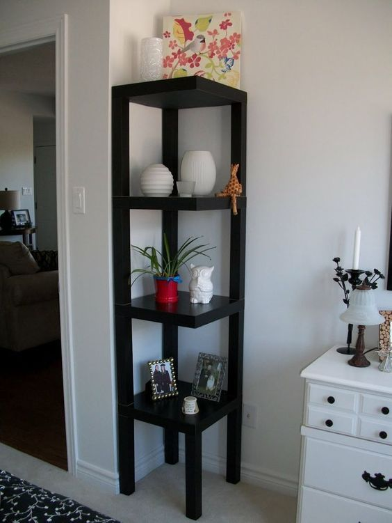 former lack to corner shelf hack materials 4 lack side tables rh pinterest com