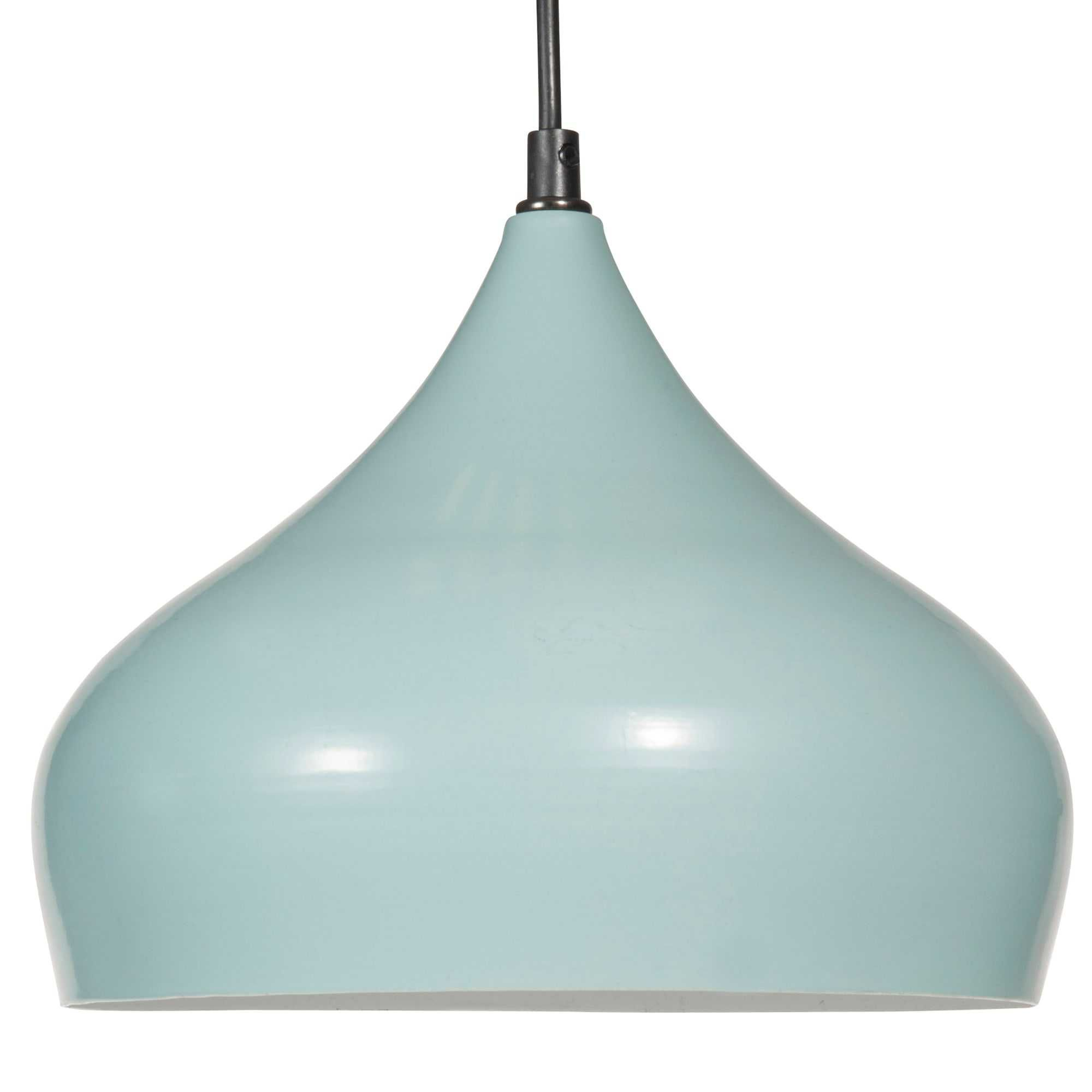Suspension en métal bleu D 26 cm Amenagement salon