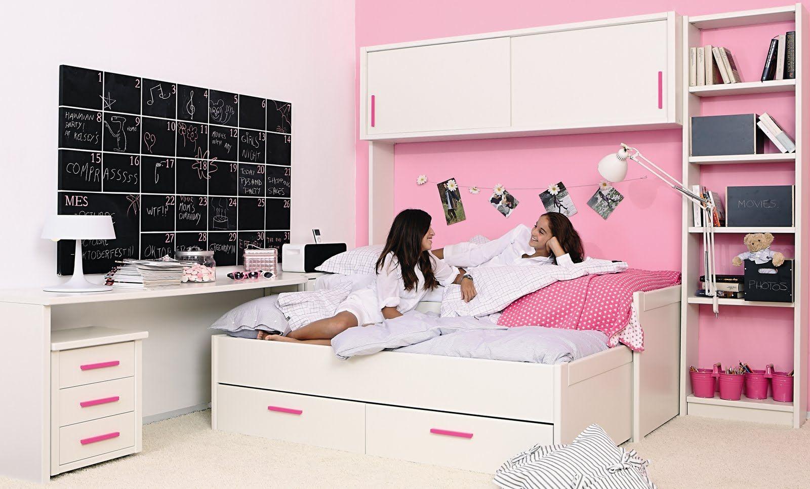 Resultado De Imagen Para Cuartos Para Niñas De 14 Años Pretty Room Toddler Bed Bed